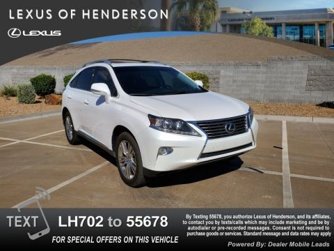 Pre-Owned 2015 LEXUS RX350