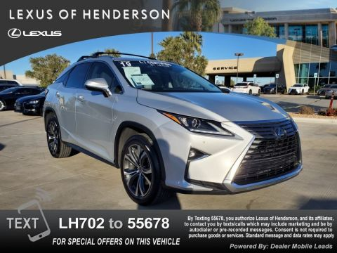 Pre-Owned 2019 LEXUS RX350 COLD WEATHER
